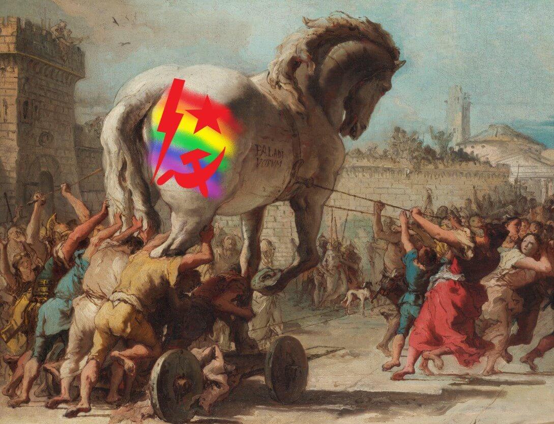 Tęczowy koń trojański