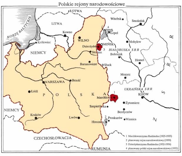 Polskie rejony narodowościowe