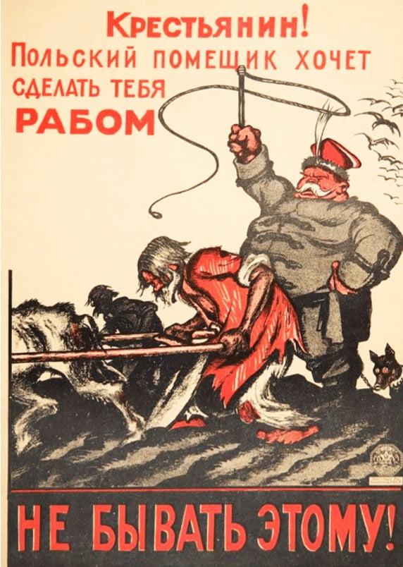 Sowiecka propaganda -polski obszarnik