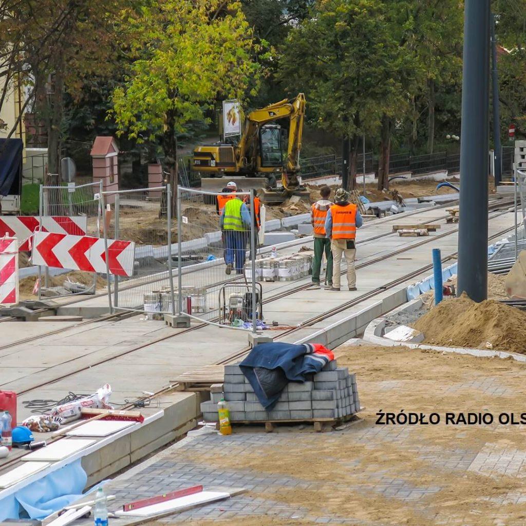 Budowa linii tramwajowej RADIO OLSZTYN