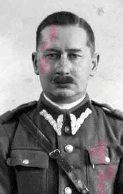 Kapitan Stanisław Bęklewski vel Pieszkowski (1886-1947) –prezes Inspektoratu WiN wOlsztynie, aresztowany w1946 roku (fot.zarchiwum IPN)