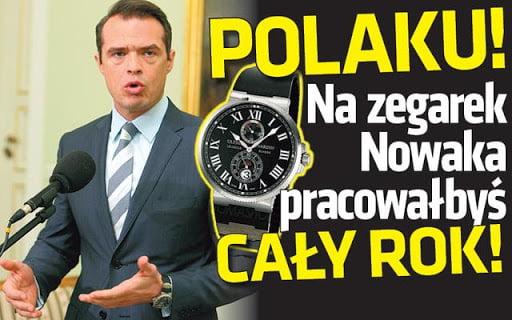 Nowak zegarki