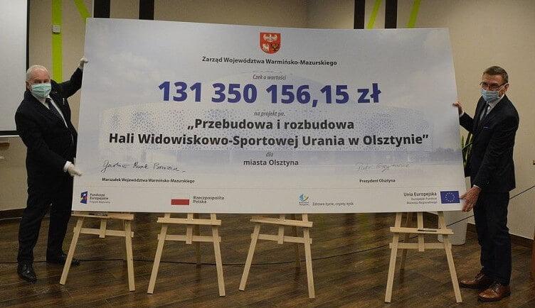 Urząd Marszałkowski daje kasę