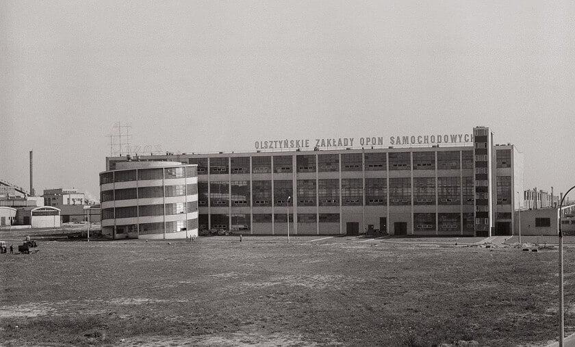 Fabryka opon wOlsztynie- archiwum OZOS