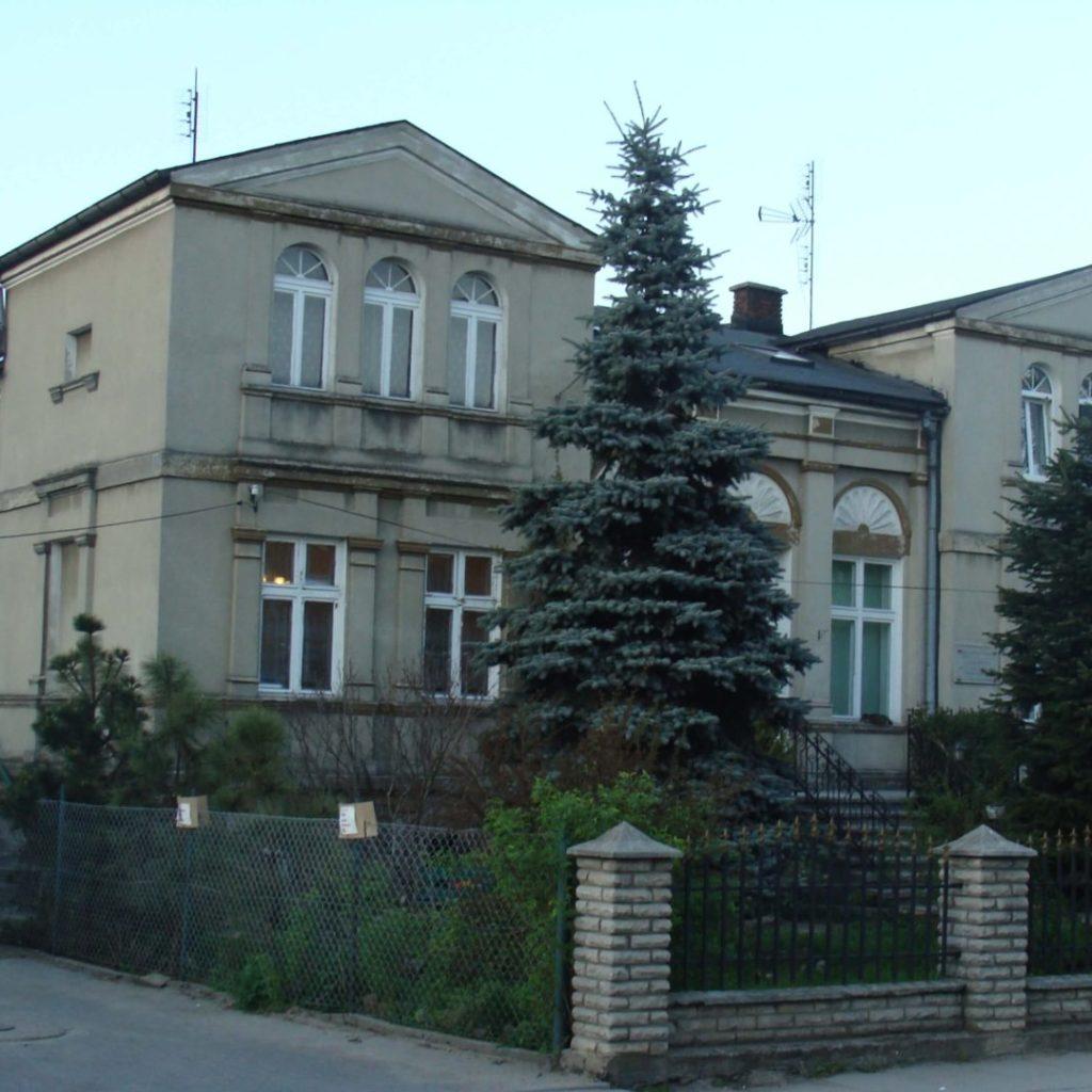 Budynek wNowym Mieście Lubawskim, będący wlatach okupacji niemieckiej (1939-45) siedzibą Selbstschutzu iGestapo