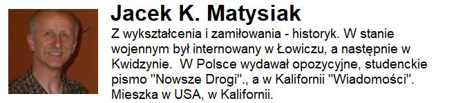 Jacek K. Matysiak