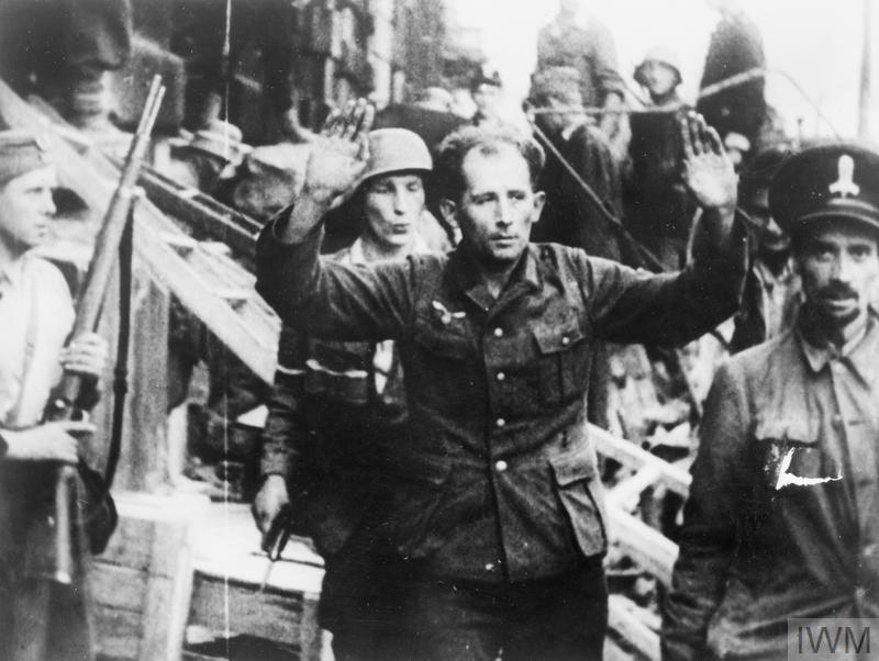 Powstanie Warszawskie | źródło: Holocaust Encyclopedia