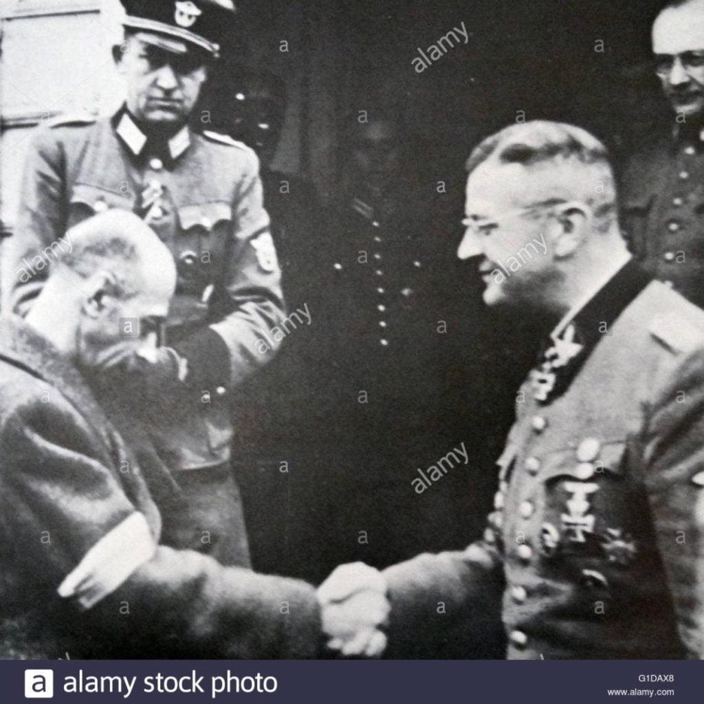General Bór-Komorowski -koniec powstania | źródło: alamy stock photo
