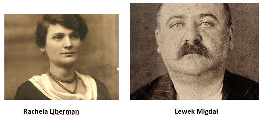 Rachela Liberman, Lewek Migdał
