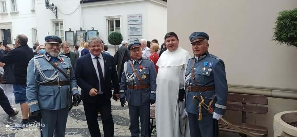Pielgrzymka Piłsudczyków naJasną Górę 3.