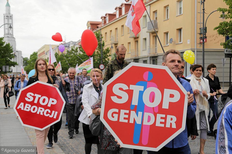 Białystok -Marsz dla Życia iRodziny