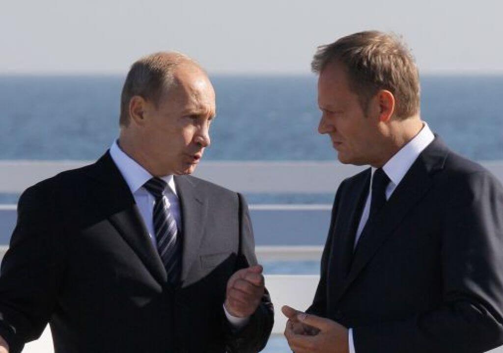 1 września 2009 r. Donald Tusk rozmawiał zWładimirem Putinem namolo wSopocie (fot.arch.PAP/Paweł Supernak)